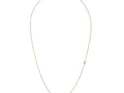 Virtue collier forgyldt sølv med hvide shell perler