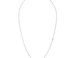 Virtue collier sølv med hvide shell perler