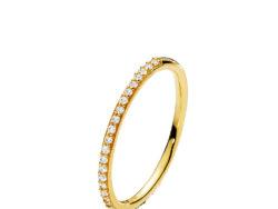 Izabel Camille Promise small ring forgyldt sølv
