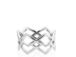Izabel Camille DNA ring sølv