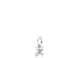 Clematis vedhæng sølv med syntetisk zirkon