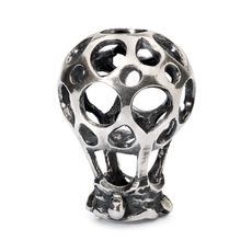 Lufballon vedhæng sølv