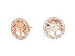 Joanli Nor CAIA ørestik rosaforgyldt sølv