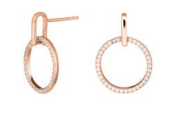 Joanli Nor ANNA ørehænger rosaforgyldt sølv
