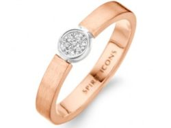 Spirit Icons Life ring rosaforgyldt sølv