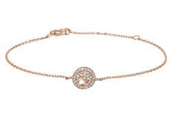 Joanli Nor CALA armbånd rosaforgyldt sølv