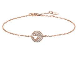 Joanli Nor CORNELIA armbånd rosaforgyldt sølv