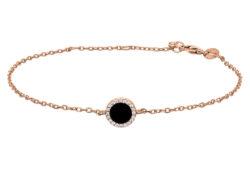 Joanli Nor CAMI armbånd rosaforgyldt sølv