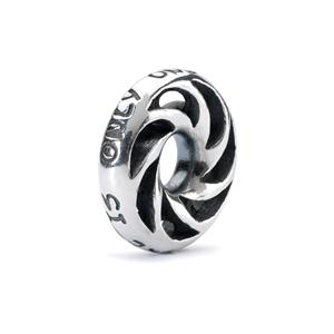 "Trollbeads sølv charm ""Only one you"""