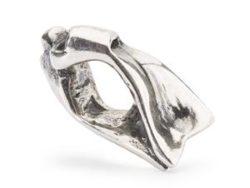 "Trollbeads sølv charm ""Svømmefødder"""