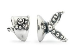 "Trollbeads sølv charm ""Havets juvel"""