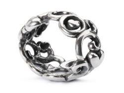 "Trollbeads sølv charm ""Mors have"""