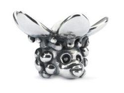 """Trollbeads sølv charm """"Naturens fe"""""""