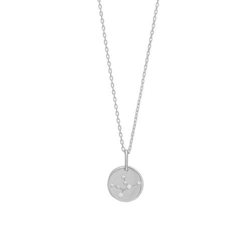 "Joanli Nor ""Estelnor"" halskæde rhodineret sølv (Jomfru)"
