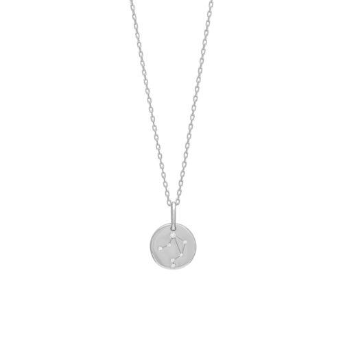 """Joanli Nor """"Estelnor"""" halskæde rhodineret sølv (Vægten)"""