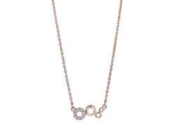 """Joanli Nor """"Evynor"""" halskæde rosaforgyldt sølv 245 142-4"""