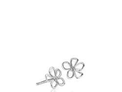 "Izabel Camille ""Honey"" ørestikker i sølv. Ørestikken er formet som en blomst og er 10x14 mm."