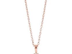 "Joanli Nor ""Hegenor"" halskæde rosaforgyldt sølv (245 169-4)"