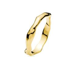 """Izabel Camille """"Emma"""" ring forgyldt sølv (A4162gs)"""
