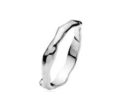 """Izabel Camille """"Emma"""" ring rhodineret sølv (A4162sws)"""