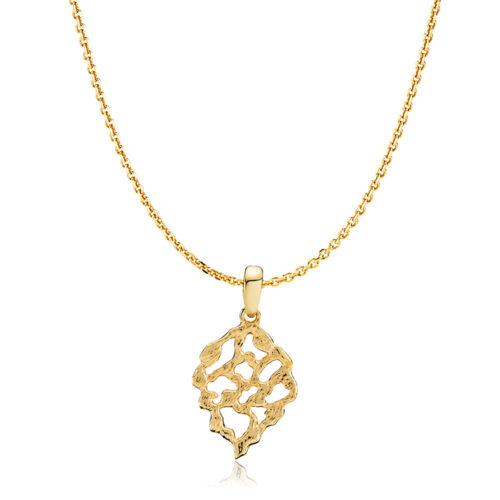"Izabel Camille ""Holly"" halskæde forgyldt sølv (S20432gs45)"